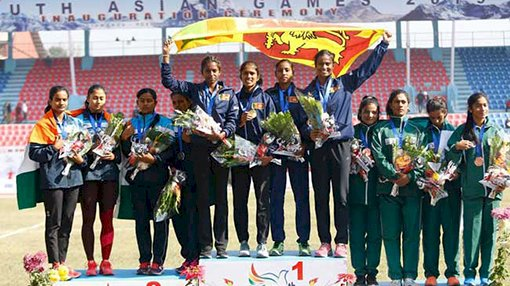 Sri Lanka tops India in SAG athletic events