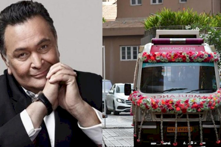 Bollywood Star Rishi Kapoor's final journey