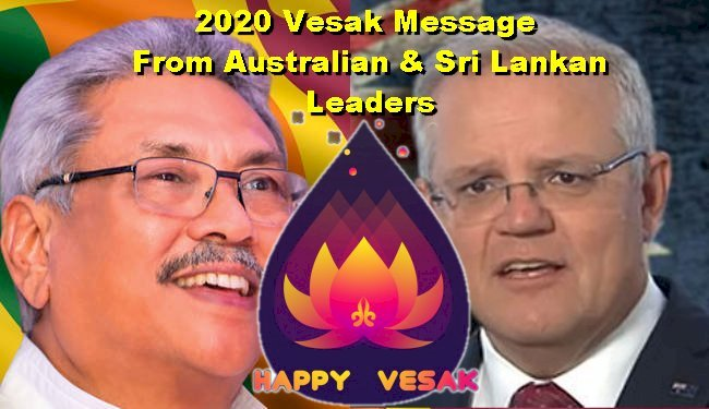 2020 Vesak Messages from Australian & Sri Lankan Leaders