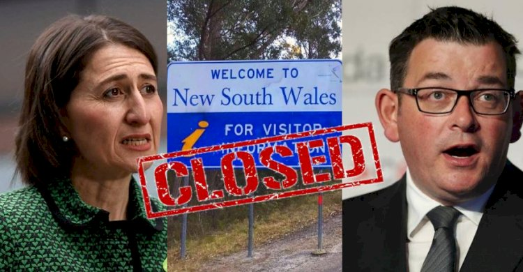 NSW border to close as Victoria's worst daily total recorded overnight