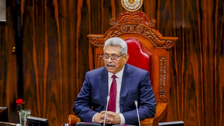 """President promises a Constitution with """"One country, one law for all people"""" in Sri Lanka"""