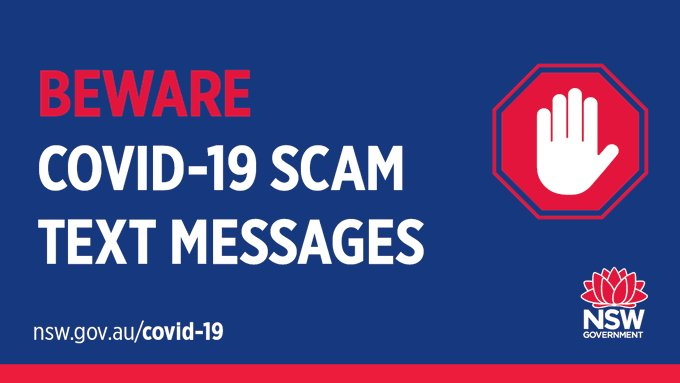Covid-19 Scam Text Message