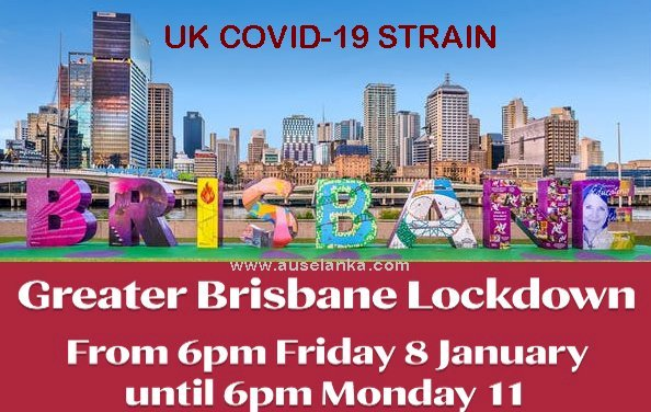 Brisbane to go into three-day lockdown
